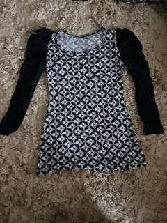 Polkadot lace blouse