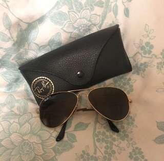 Ray Ban Polarised Aviator Sunglasses