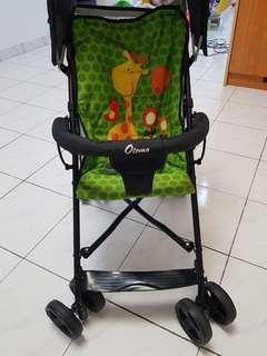 Light weight baby stroller