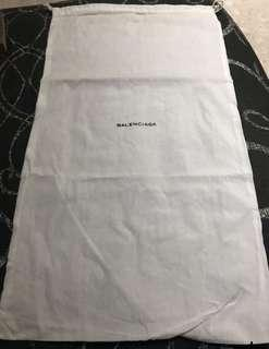 🚚 Authentic Brand New Balenciaga Large Dust Bag