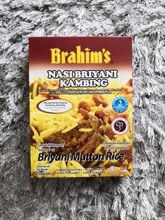 Nasi Briyani Kambing Brahim (Ready To Eat)