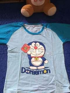 Kaos Doraemon dewasa