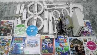 Wii Console, Accessories&Games