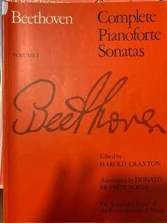 Beethoven Sonatas Volume 1 ABRSM