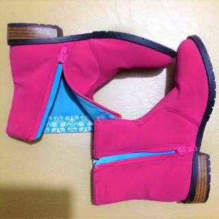 Disney Princess Cinderella Pink Boots