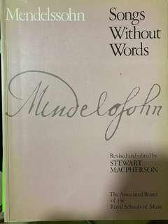 🚚 Mendelssohn Songs without words Complete ( piano)