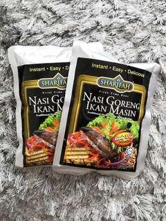 Nasi Goreng Ikan Masin Sharifah Food (Ready To Eat)