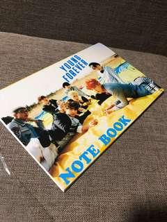 BTS Young Forever Notebook📒