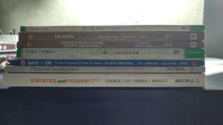 UST SHS PRELOVED BOOKS (GRADE 11)