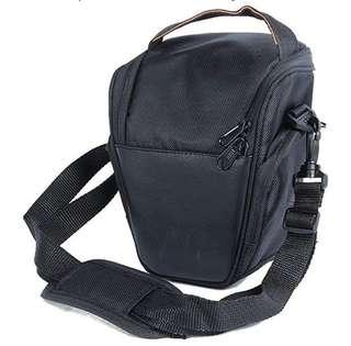 Nylon Shoulder Strap Black Backpack Camera Bag SLR Case Waterproof for Canon Nikon Sony SLR DSLR