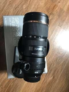 Tamron 70-200mm f2.8 bc USD(Nikon)