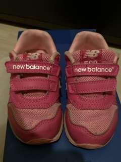 🚚 New Balance 女童鞋子 粉紅色