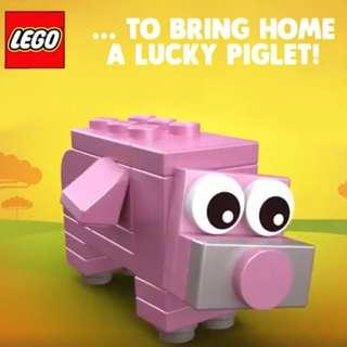 Lego year of the pig 2019 piglet