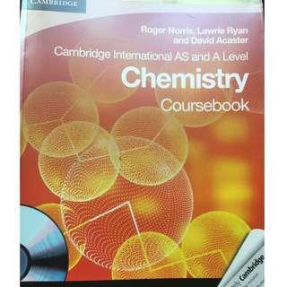 Cambridge A Levels Chemistry Coursebook