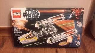 全新 樂高 New MISB Star Wars Lego 9495 Gold Leader's Y-wing Starfighter