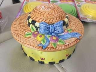 陶瓷 盒子 飾物盒