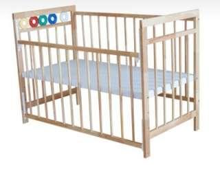 Royal cot wooden baby crib