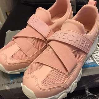 🚚 Skechers 粉紅色走路鞋 88888016LTPK