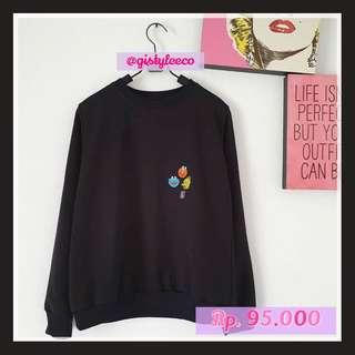 SWEATER ELMO 9897 BLACK