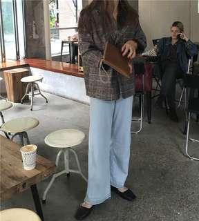 🇰🇷韓妞格子西裝外套