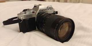 🚚 Fully functioning Canon av1 Av-1 w 35-105mm lens (brother of ae-1 ae1)