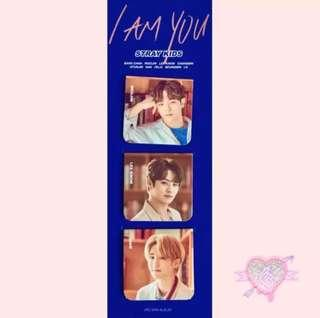 STRAY KIDS  UNVEIL REVIEW  OFFICIAL MAGNETIC BOOKMARK (SELECT 1 VER) - FREE shipping!