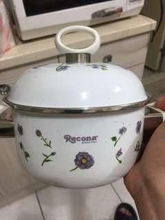 🚚 搪瓷16cm兩用鍋