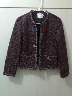 Tweed Blazer with lining from KOREA