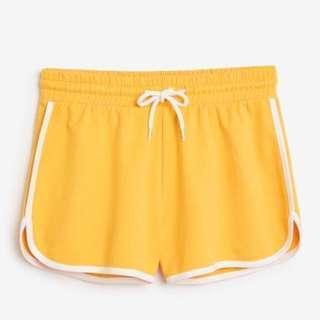 #MakeSpaceForLove MONKI Sporty Gym Shorts (Yellow)