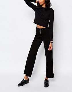 #MakeSpaceForLove MONKI Wide Leg Trouser with Zip