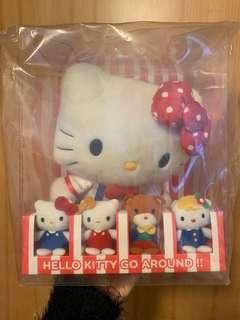 Hello Kitty go around 紀念公仔一套