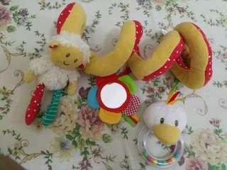 Cot spiral  ELC (dekorasi dan mainan baby)