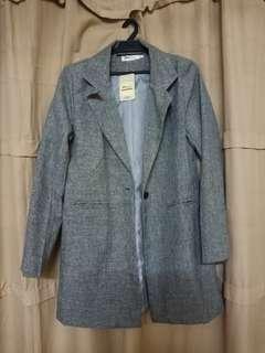 Blazer : Grey colour