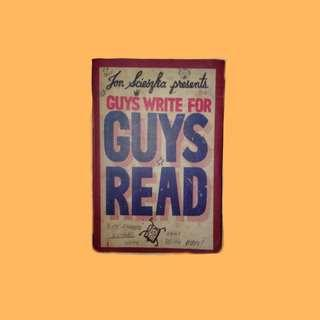 guys write for guys' read