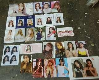 Wjsn and Apink photocard