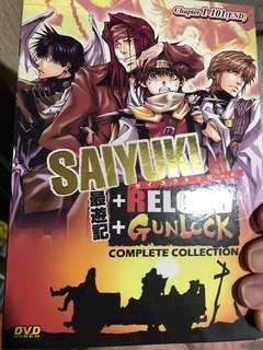 Anime Movie DVD Collection - Saiyuki complete cpllection