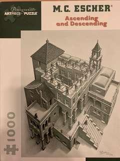 Puzzle Escher Ascending and descending