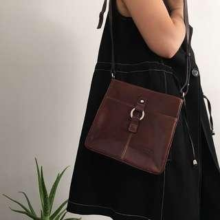 Florence Italian Leather Crossbody Bag