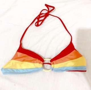 OP Rainbow Bikini Top