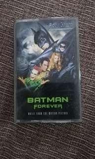 Batman Forever Soundtrack cassette