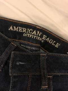 AMERICAN EAGLE HI RISE JEANS