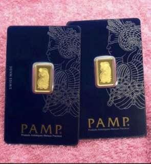 Original, pure gold - 2.5g per bar ✅✅✅