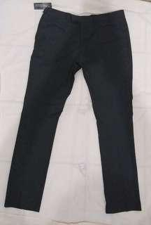Celana Kantor The Executive Skinny Fit size 34 Dark Grey