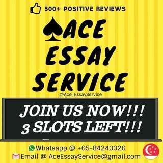 Freelance Essay Writers