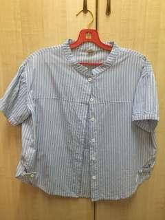 Blue Ladies Shirt
