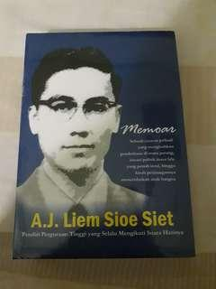 Memoar AJ. Liem Sioe Siet #sharethelove