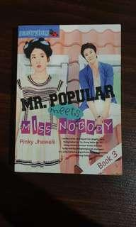 Mr. Popular Meets Ms. Nobody (Book 3)