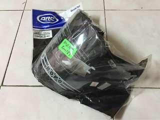 arc ritz visor clear 100% ori