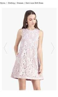 Looking for fayth Demi lace shift dress