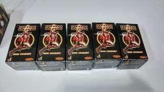 全新 絶版 Hottoys ironman Cosbaby 鋼鐵奇俠 5隻 (注意內文)
